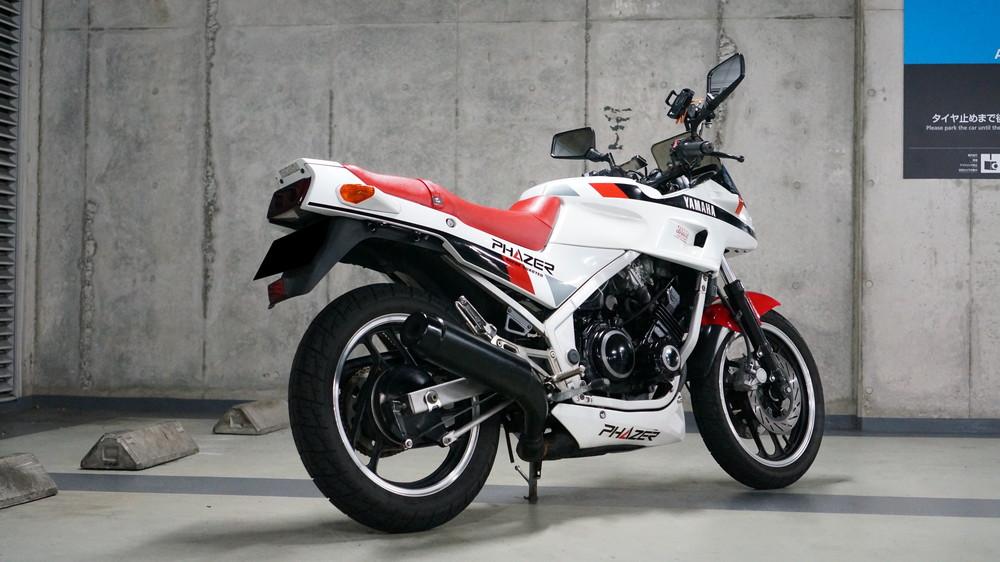 ヤマハ fz250 バイク洗車 moto gallery