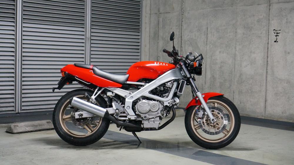 バイク スパーダ 【幻名車】ホンダCORSA ROSSA